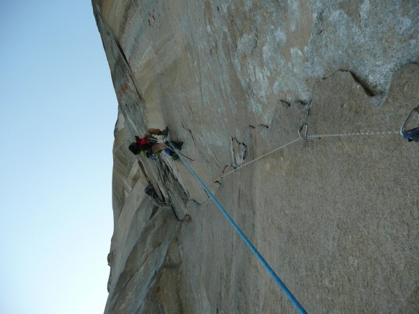 """""""Day 6--still steep as f*ck. This route is nutso."""" - Phil"""