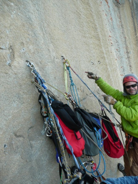 """By day 6, Aaron's belay organization skills are The Next Level. This ..."