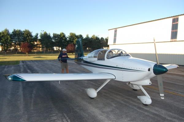 RV7A pre-flight check