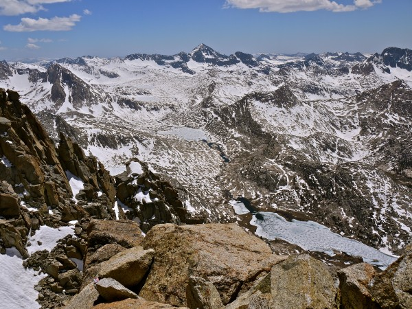 EVO Basin from the notch.