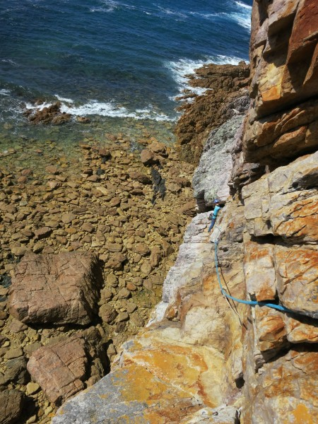 P2 of Zorro, Rocky Cape, Tasmania.