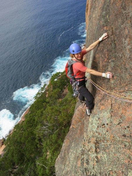 P2 of Stud City, Hazards Cliff, Freycinet, Tasmania.