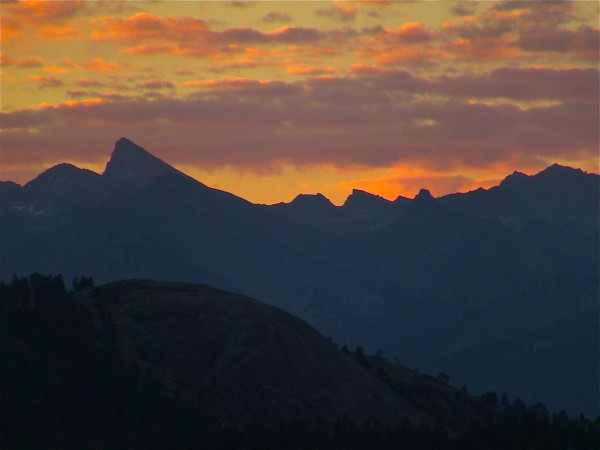 The High Sierra.....Sawtooth Peak to be exact.....as seen from hwy 180...