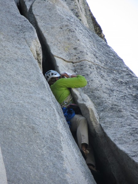 Chris in the 5.7 squeeze.