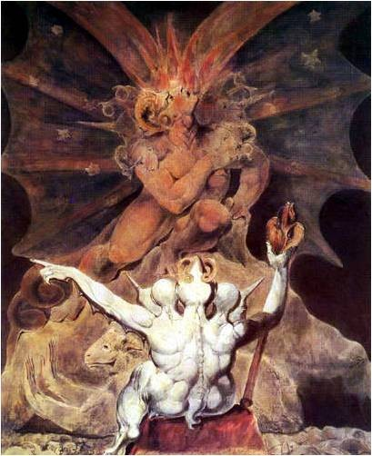 The number of the beast is 666. By William Blake.