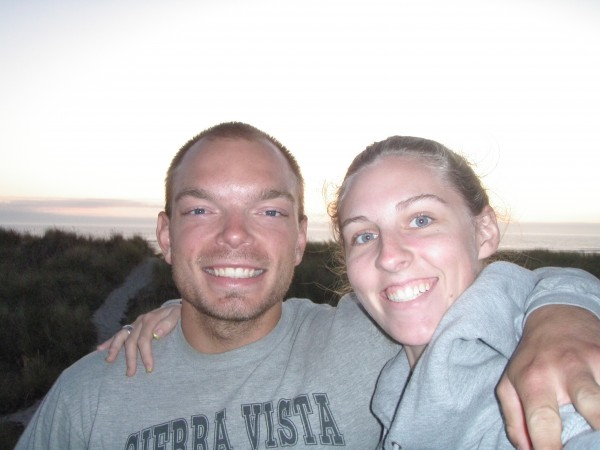 Sam and I in Oregon a couple of years back