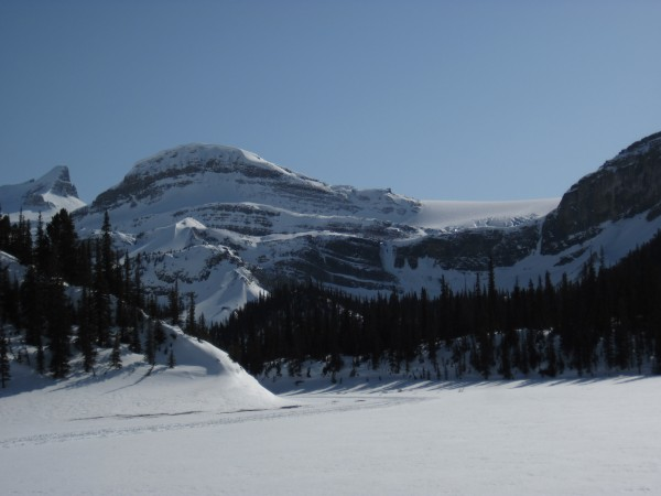Closer to Bow Falls (just to the right of the center of this pic) - 4/...
