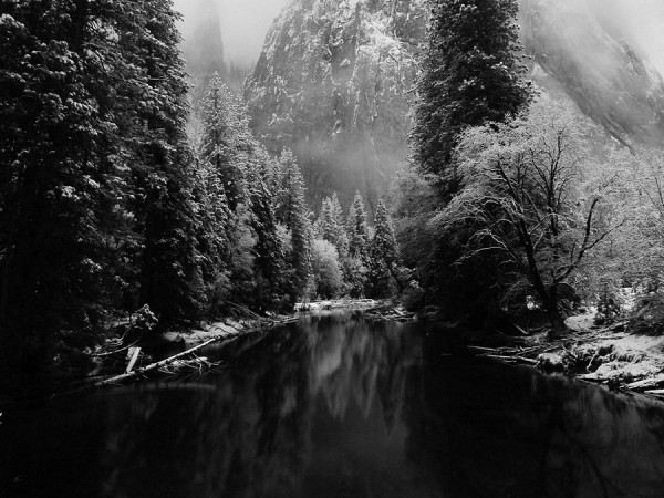 Merced River, Yosemite, Nov 4. 2011