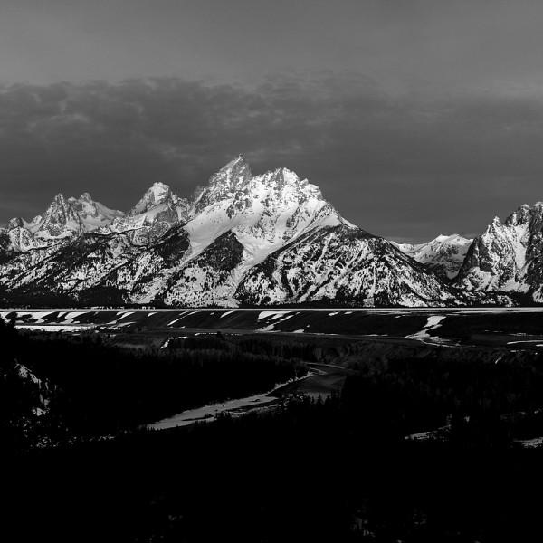 The Grand Tetons spring 2012