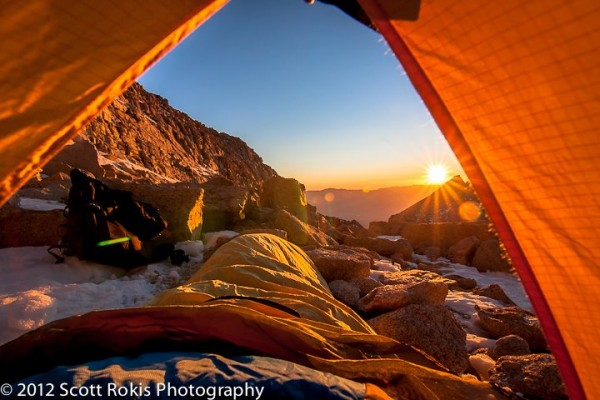 This view doesn't come easy�but it sure is worth it. Mountaineer's Tra...