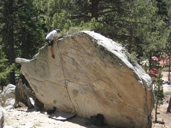 Mike FogartyTram Bouldering