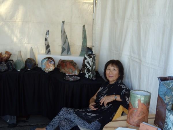 mariko and her ceramics