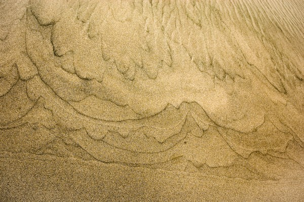 Slip Face Of Dune