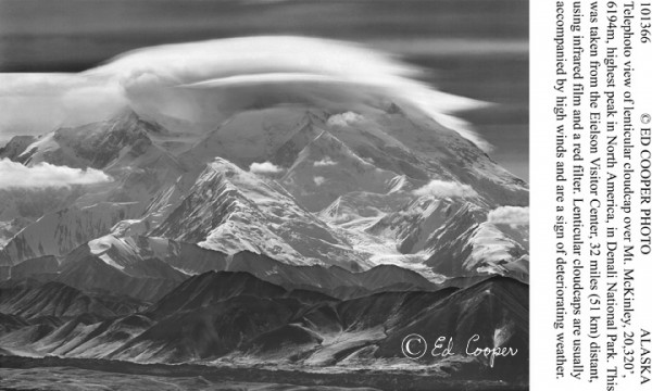Mt.McKinley, cloudcap, AK.