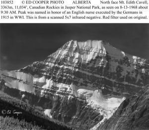 North Face of Mt. Edith Cavell, ALTA
