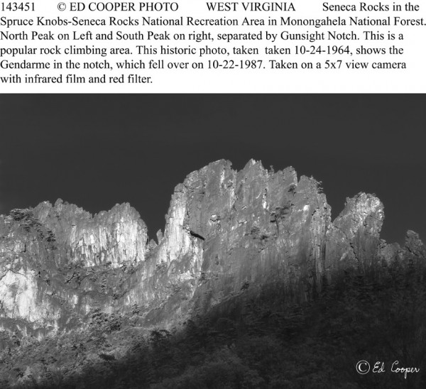 Seneca Rocks, BW, WV