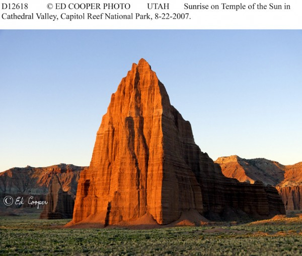 Temple of the Sun,Cathedral Valley, UT, downsize