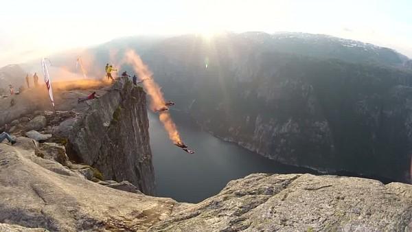 smoke jump