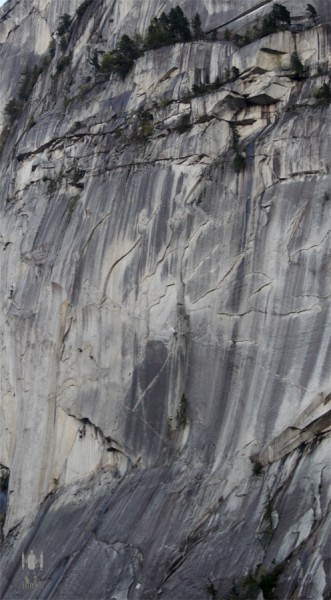 The Grand Wall 13a (11a A0) Lite. Squamish Chief.