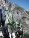 South Face of Washington Column Rope Solo June 2012 - Click for details