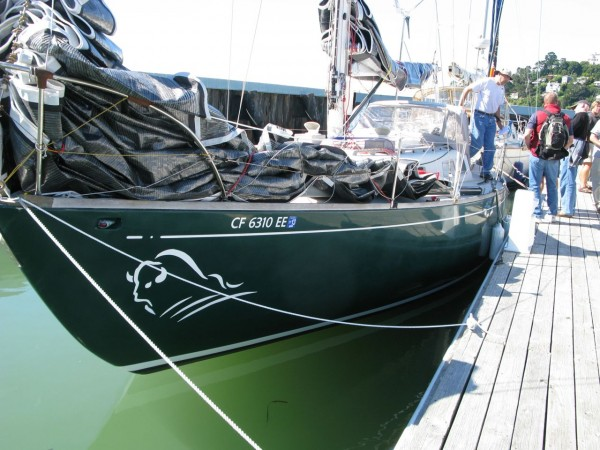 Green Buffalo a Cal 40, the boat that started the light displacement s...