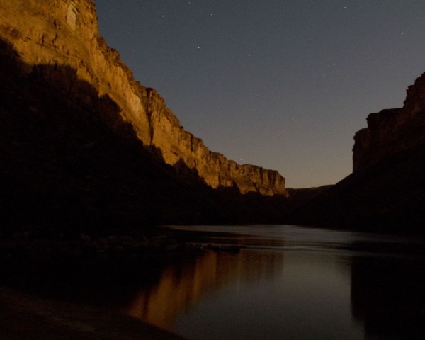 Midnight in the Grand Canyon