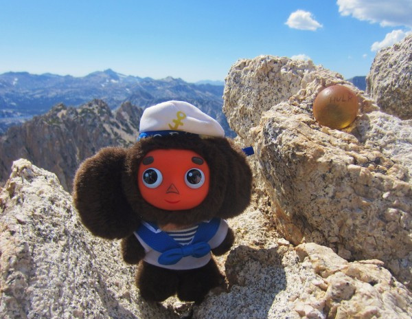 Cheburashka captures the Hulk ball