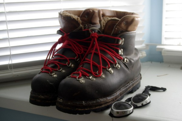 My ol' Galibier Makalu double boots made two trips to Denali
