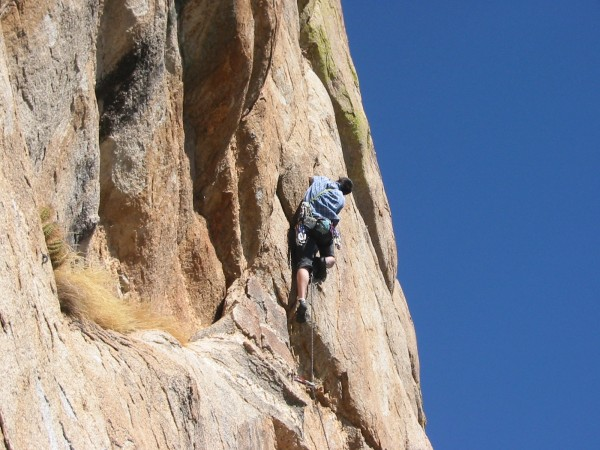 Something somewhere up on Lemmon. Can't remember the crag or climb. Bu...