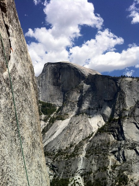 Sweet views of Half Dome from SFWC