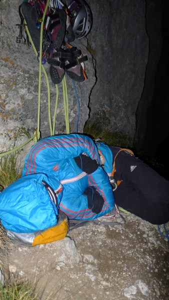 2am bivy picture...