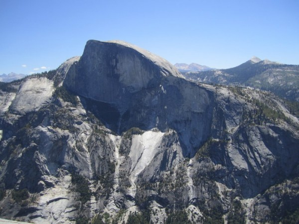Looking across at Half Dome.