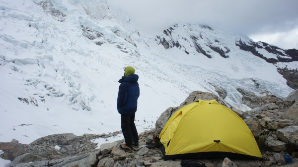 Gil at high camp