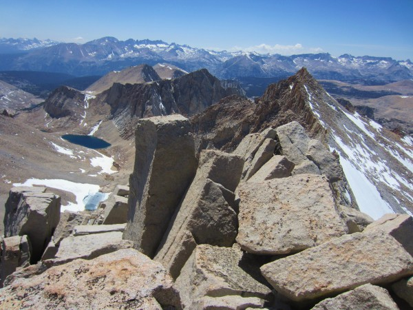 Summit views towards Morgensen