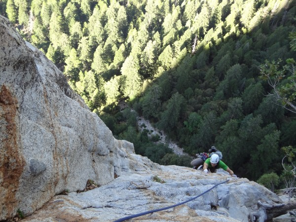 The East Buttress of Middle Cathedral, Yosemite Valley, CA
