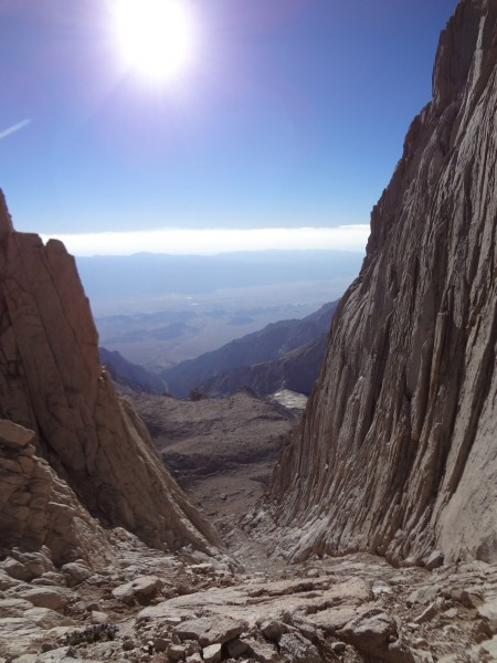 Mountaineers Route - Mt. Whitney (Decent from The East Face Route to I...