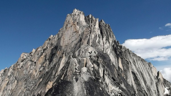The ridgeline on Bugaboo Spire