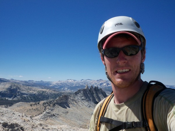 Myself with Matthes Crest in the background