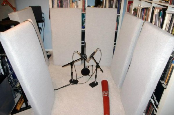 Acoustic panels and bass traps