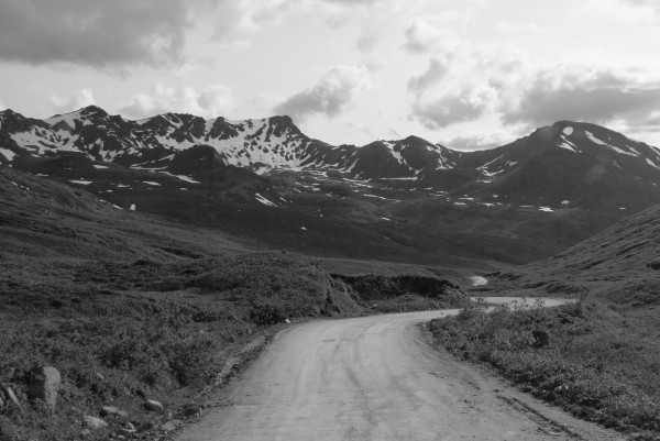 Hatcher Pass dirt road