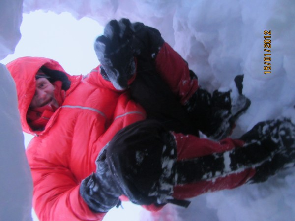 My Babe, Jay, saved my life during a 3-day blizzard on Mt Rainier in J...