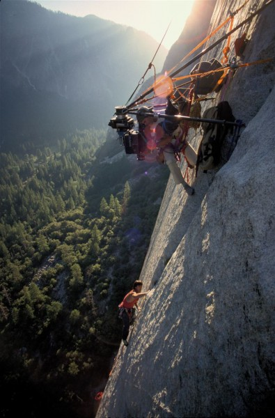 Imax wall anchor from &quot;To the Limit&quot; Nose El Cap <br/>