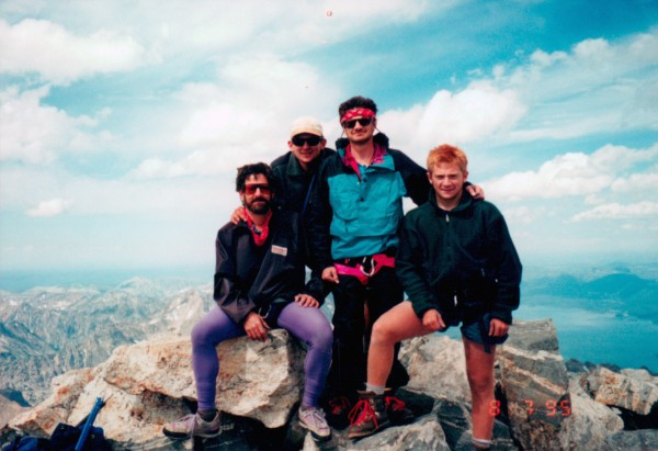 From left to right; my uncle, best friend my dad and myself on top of ...