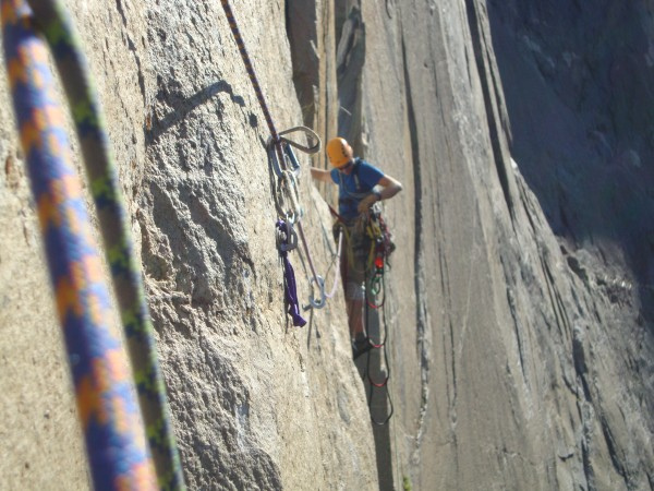 traverse over on the pre-molar pitch