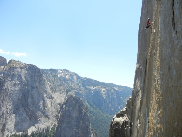 end of the molar traverse