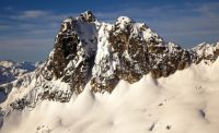 Cutthroat Peak - Cauthorn-Wilson III WI4 - Washington Pass, Washington, USA. Click to Enlarge