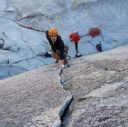 Juno Tower - Clean Break IV 5.10b/c - Washington Pass, Washington, USA. Click for details.