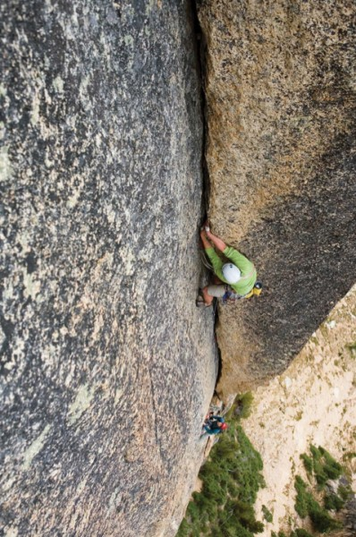 Wesley McCain leads the infamous Pitch 5 of the Northwest Corner on No...