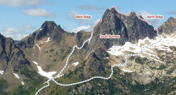Cutthroat Peak North Ridge