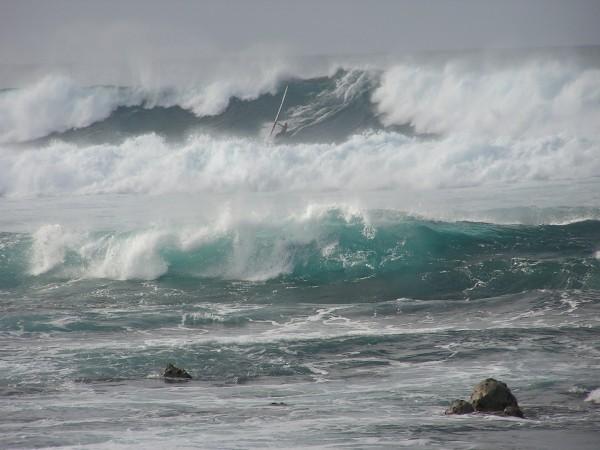 Dale Cook at Kuau, Maui <br/> Photo: Olaf Mitchell